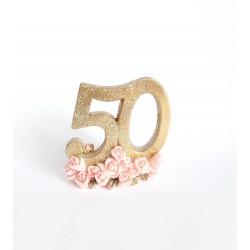 """Figurka """"50"""""""