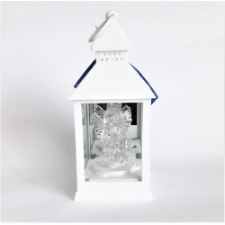 Lampion ze świecą led w kształcie anioła