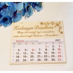 Kalendarz całoroczny Kochanym Dziadkom